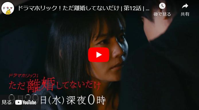『ただ離婚してないだけ』 12話 最終回  あらすじと予告動画 キャスト・出演者